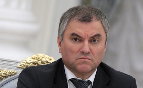 Володин согласился с необходимостью закона о защите чести президента