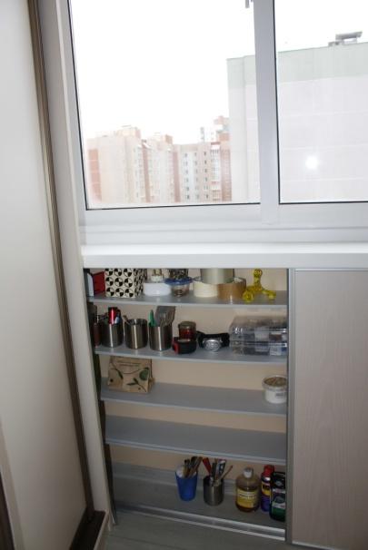 Стильный и функциональный балкон