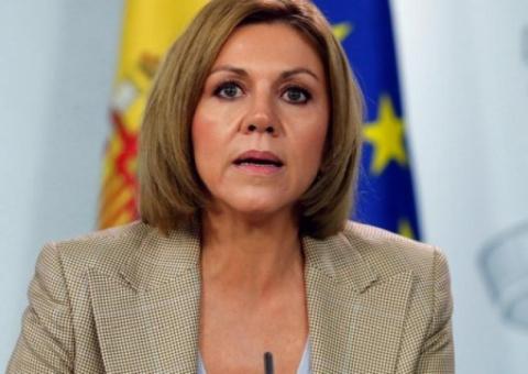 Министра обороны Испании раз…