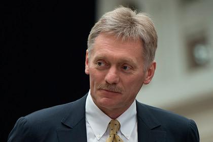 Песков прокомментировал план Порошенко о миротворцах в Донбассе