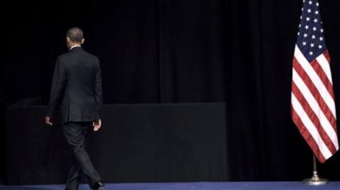 """Барак Обама:он прибыл в Европу как """"лузер"""""""
