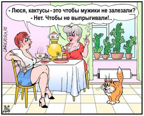 Карикатура & анекдот.