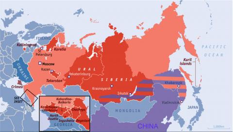 В Раде рассказали о подготовке Запада к распаду РФ