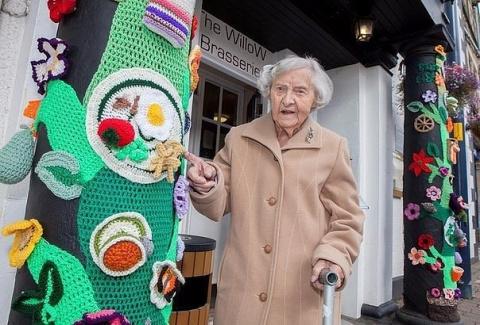 Эта чудесная 104-летняя стар…
