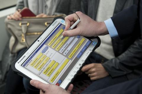 Взрывозащищенный планшет Panasonic Toughpad FZ-G1 mk4 представлен в России