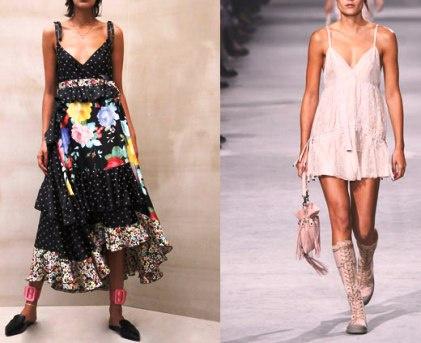 Модные повседневные платья на весну-лето 2017