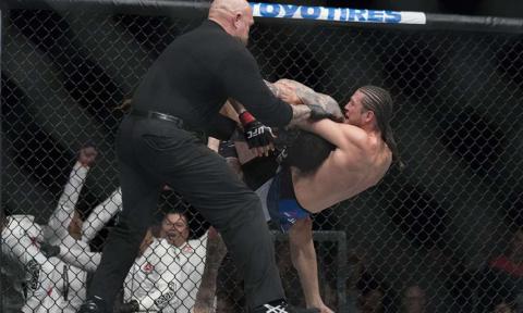 UFC Fight Night 123: Ортега …