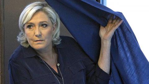Новости мира: Ле Пен вышла во второй тур парламентских выборов во Франции