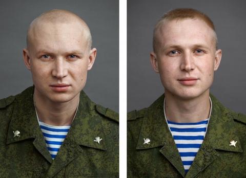 Фотографии парней до и после…