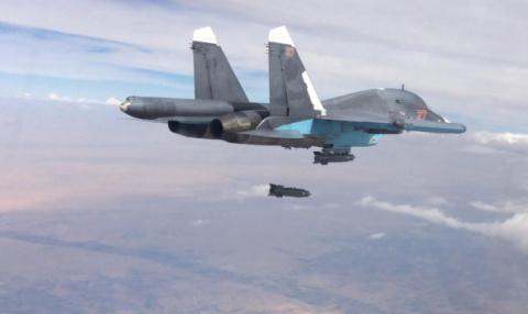 Россия разбомбила в Сирии ба…