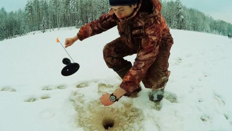 ТОП-5 Неожиданный улов на зимнюю жерлицу