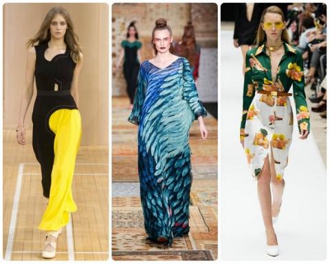 10 модных принтов сезона веcна-лето 2016