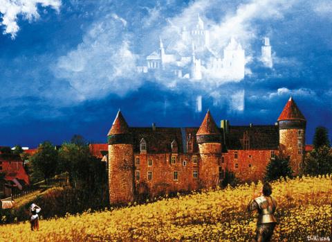 Замок в поле или явление небесного города рыцарю удачи