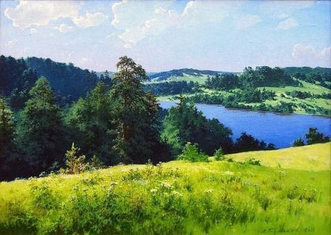 Пейзажи Александра Булакова …
