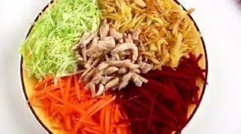 Обалденный французский салат…