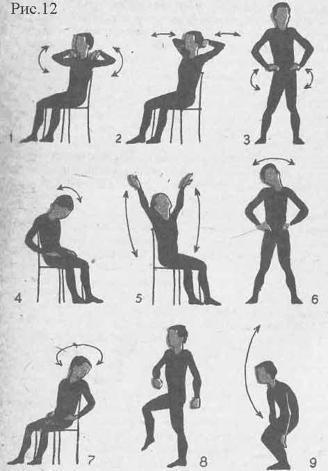 Шейный остеохондроз. Гимнастика для профилактики шейного остеохондроза. Изометрические упражнения