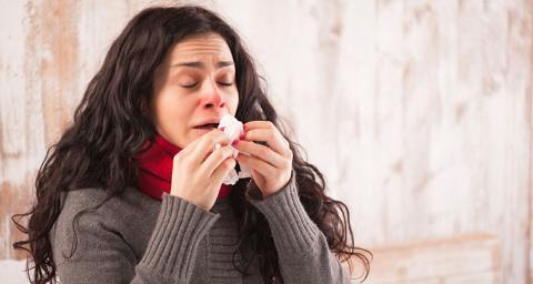 Нос помнит грипп долго