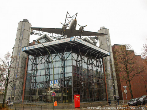 Немецкий технический музей в Берлине