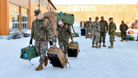 Американские военные вызвали у норвежцев нервозность и неприятные воспоминания