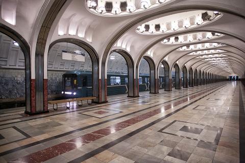 «Маяковская»: одна из самых красивых станций метро в мире