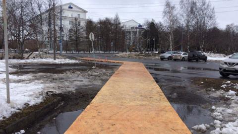 В Архангельске перед приездо…