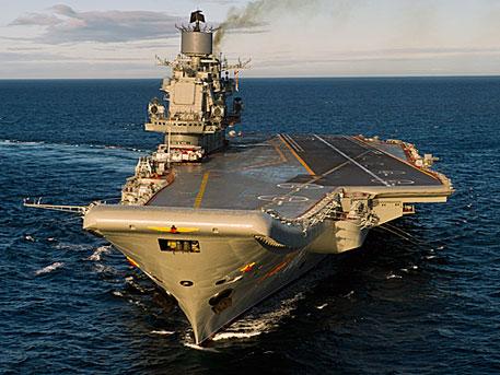 «Кузнецов» утер нос «гордости американского флота» — немецкие СМИ