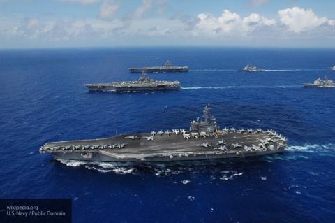 Военный самолет США с 11 пассажирами рухнул в Тихий океан
