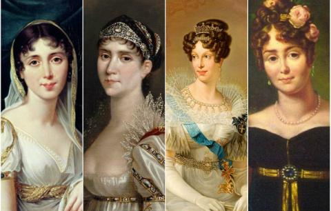 Четыре дамы, покорившие серд…