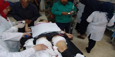 Обстрел террористами: в Дамаске ранены два человека
