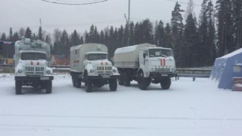 Из-за сильных морозов на трассах в Карелии оборудовали пункты обогрева