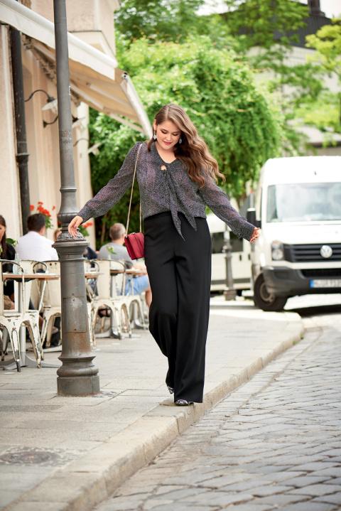 Как казаться выше и стройнее с помощью одежды