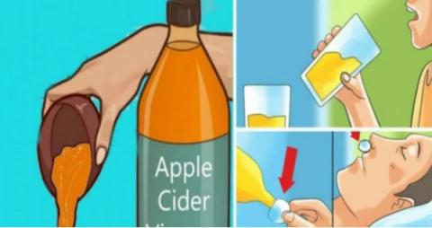 Употребление в пищу яблочного уксуса перед сном изменит вашу жизнь навсегда!