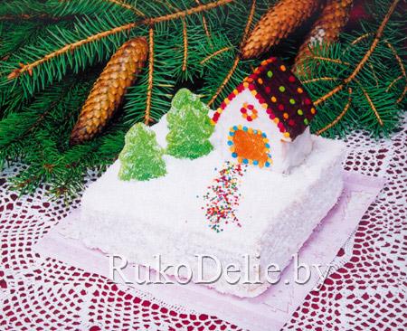 Торт ''Новогодняя сказка'' к праздничному столу