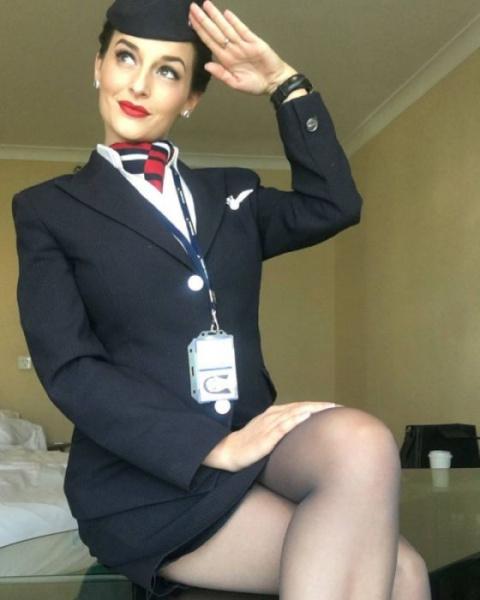 Красотки стюардессы, просто …