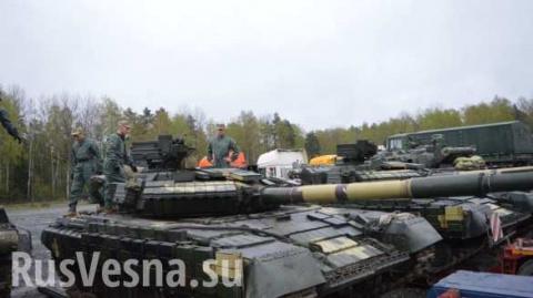 На биатлоне против танков НАТО Украина выставила советские бронемашины, разработанные полвека назад (ВИДЕО)