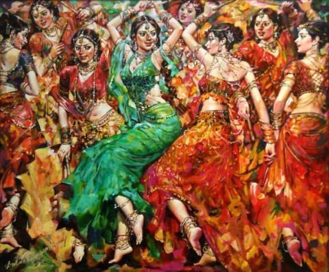Танец страсти GANGOPADHYAY