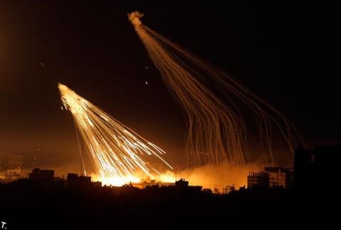 Коалиция США отбомбилась фосфорными бомбами по госпиталю в Ракке