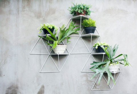 Простые геометрические полки…