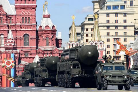 Парад в Москве в честь 72-й годовщины Победы в Великой Отечественной войне