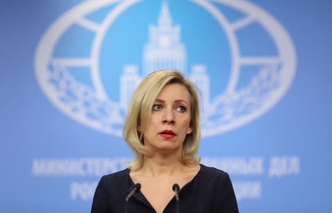 Захарова отреагировала на просьбу СМИ подтвердить, что «автоответчик» МИД был шуткой
