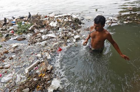 Ужасающие фотографии Индии