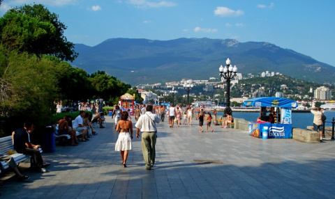 С начала года полуостров Крым посетили 750 тысяч туристов