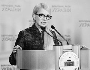 Тимошенко стремится к роли «любимой жены господина»