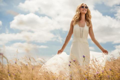 Макси-платье — вещь для настоящей модницы