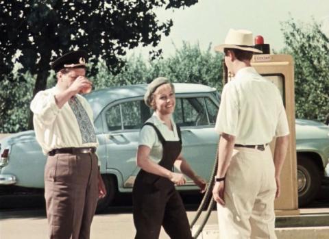 Советский автотрафик 1962 го…