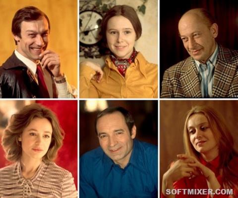 Задушевные портреты актеров …