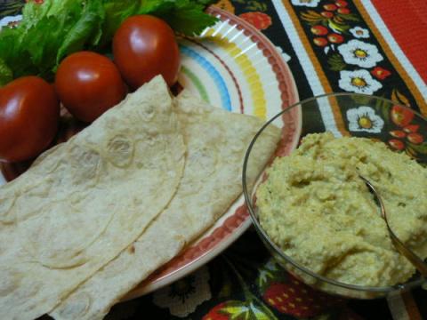Хумус — еще одна овощная закуска