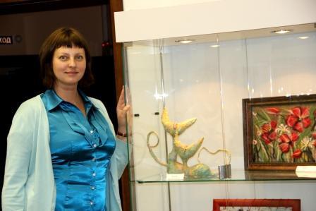 """Открытие выставки """"Радуга идей"""". г, Ангарск. 30 августа 2011г."""