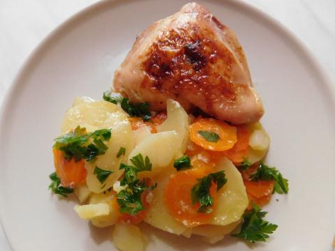 Курица с картошкой - что мож…