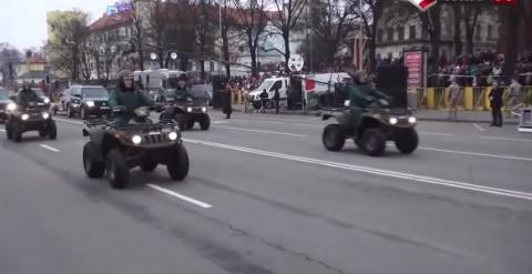 Мощь: Прибалтийский парад дл…